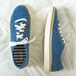 Vionic Hattie Sneakers - Blue Chambray